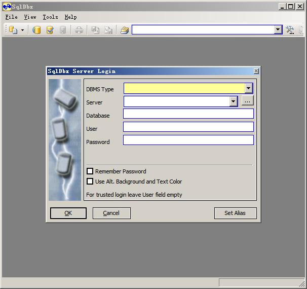SqlDbx Personal官方版(数据库编辑管理) v4.1.7 免费绿色版 0