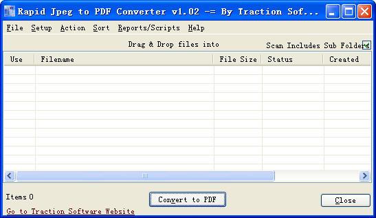 JPEG转PDF工具(Jpeg to Pdf Converter) v2.2.39 官方特别版 0