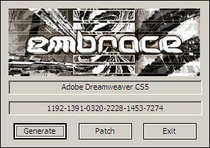 Adobe Dreamweaver CS5 注册机  0