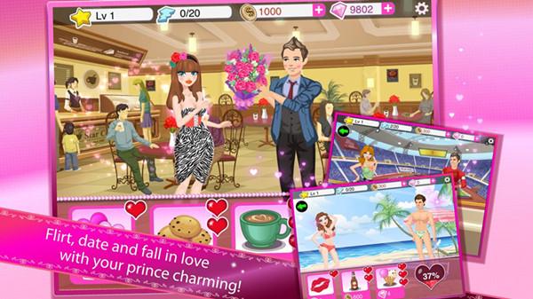 超级女星浪漫之日无限钻石金币版 v3.1 安卓内购破解版 3