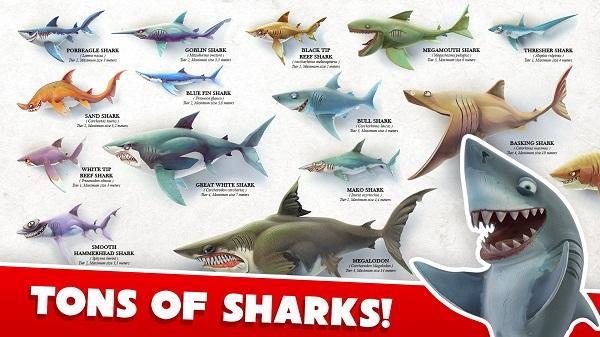 饥饿的鲨鱼世界无限钻石版 v0.4.0 安卓修改版 1