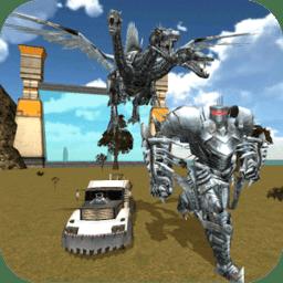 飞龙变形机器人无敌版