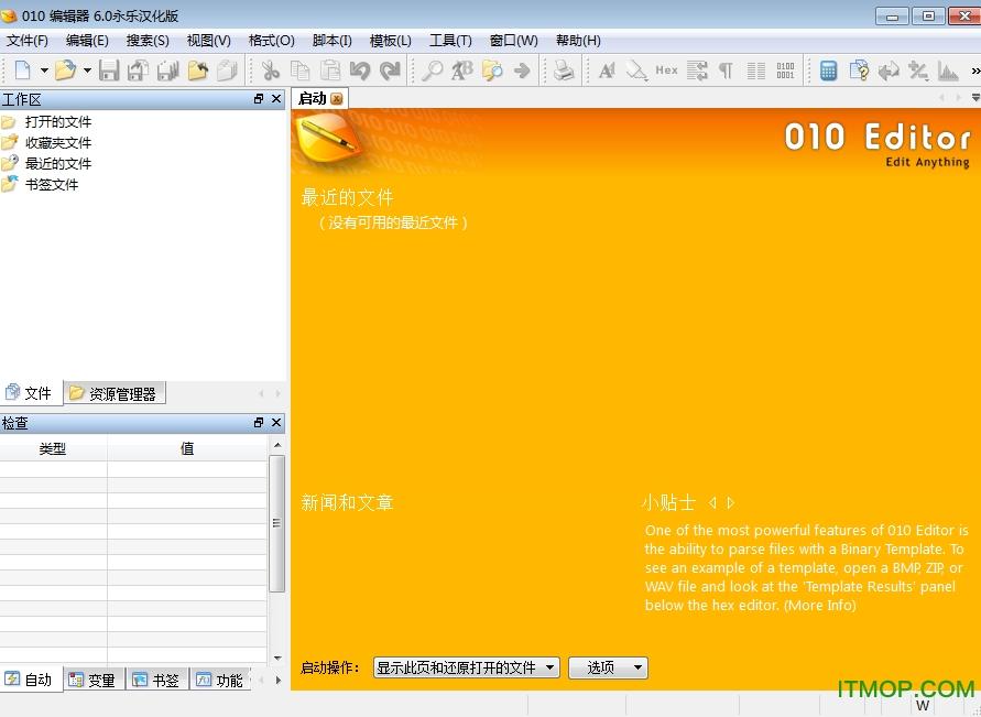 010 Editor(16进制编辑器) v12.0.1 中文版 0