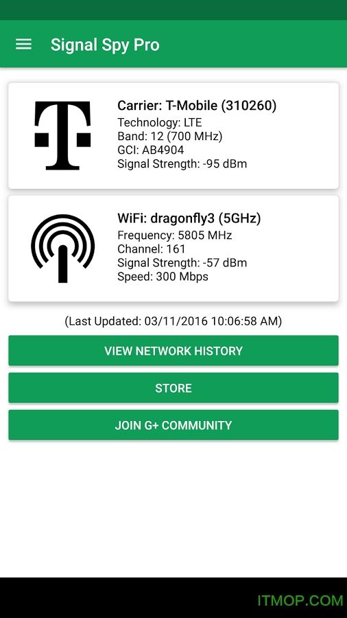 Signal Spy(信号检测) v1.9.9.8 安卓版 0