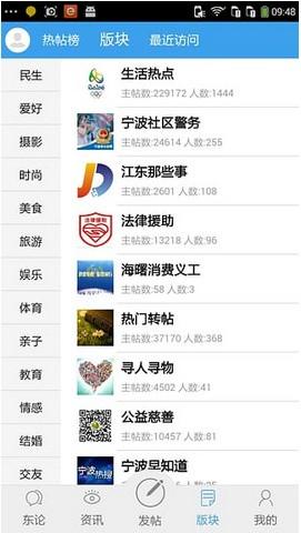 宁波东方论坛手机版 v4.0.24.0 安卓版 1