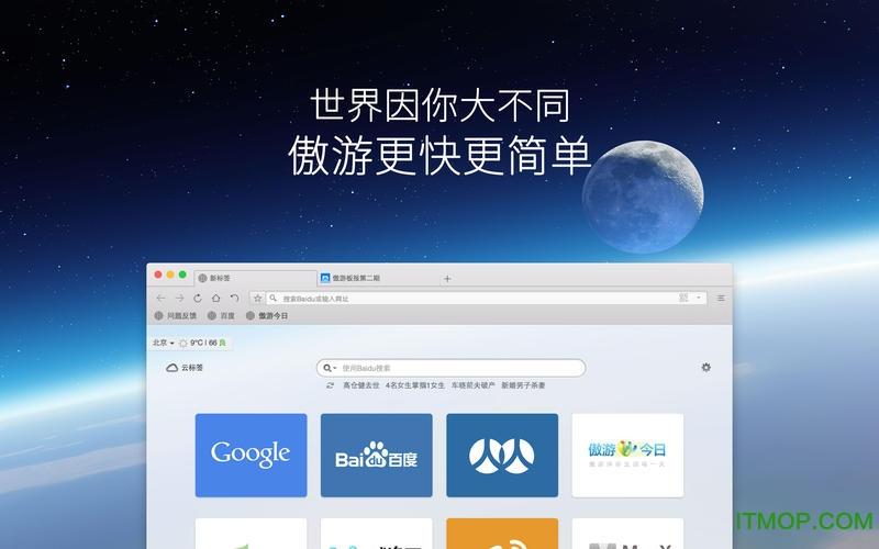 傲游云浏览器 for Mac v4.1.3.5000 官方经典版 0