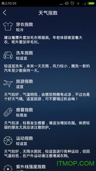 城市天气预报手机版 v1.6.0 安卓版3