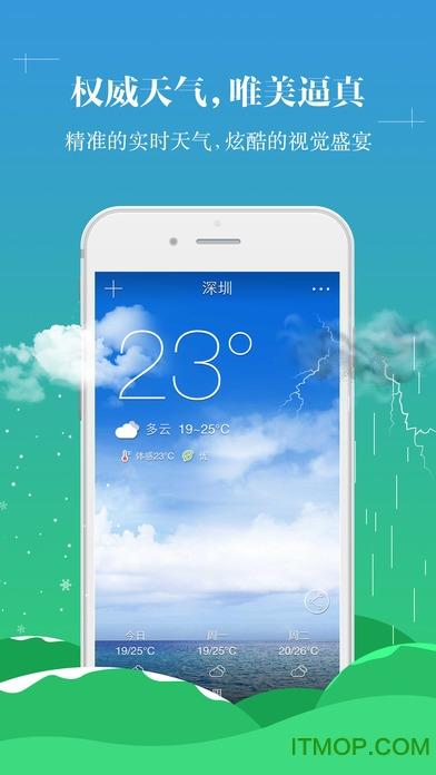 中央天气预报苹果手机版 v6.1.2 ios版0