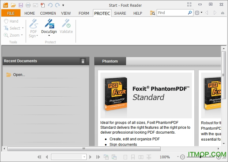 Foxit Reader for desktop Linux v2.4.4.0911 英文免费版 0