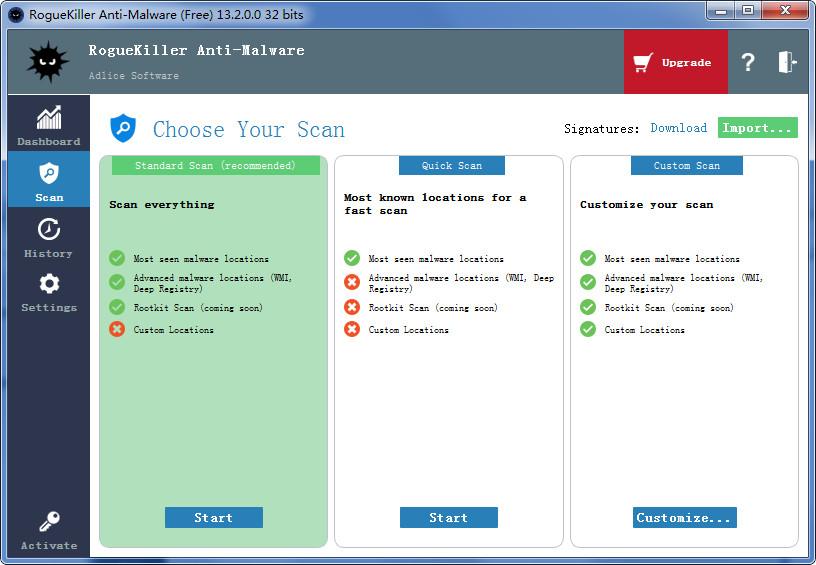 RogueKiller(流氓软件专杀工具) v13.2.0.0 官方版 0