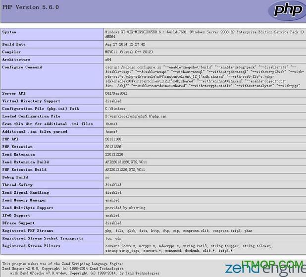 PHP�理器