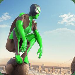蜘蛛侠绳索英雄绿超人无限钞票版