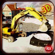 挖掘机扫雪机模拟器无限金币版