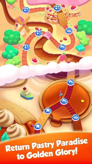 甜点消消乐破解版 v1.2.0 安卓版 1