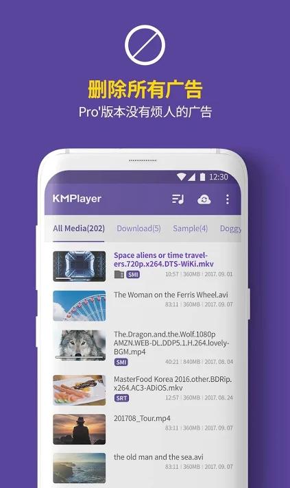 KMPlayer播放器手机版 v2.2.2 安卓破解版 3