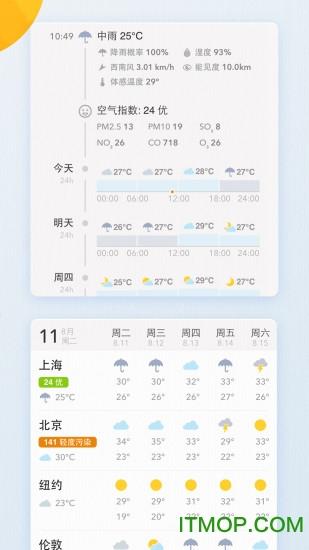 我的天气MyWeather v0.1.0 安卓版0