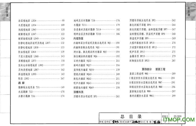 05j909/07g120工程做法图集 pdf高清版 0