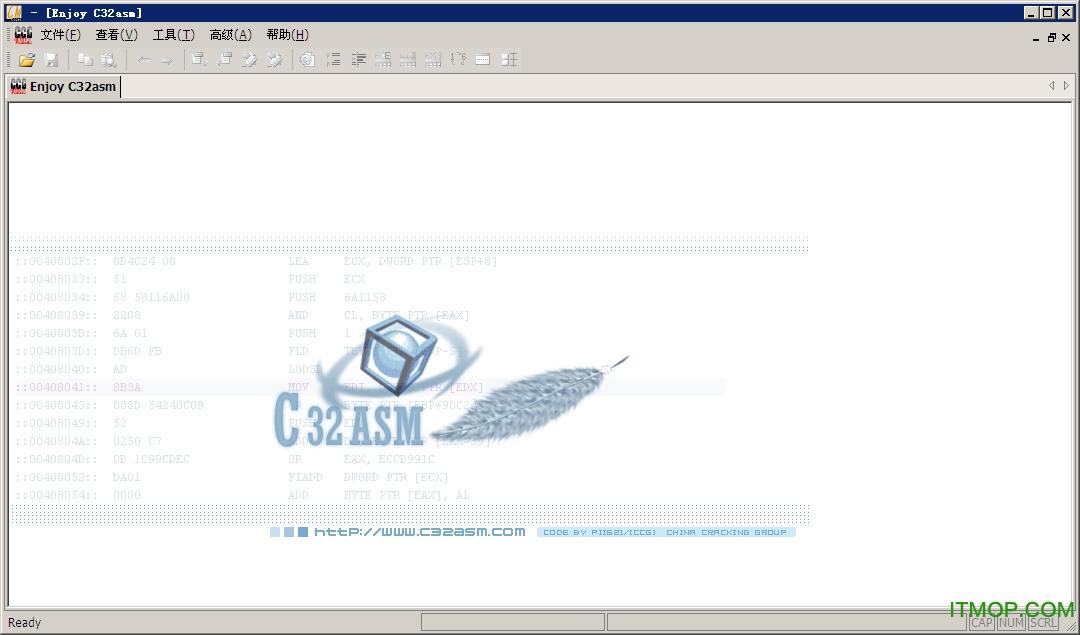 黑客工具反汇编工具C32 绿色破解版 0