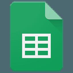 Google表格(Sheets)