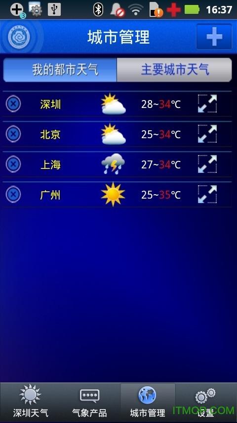 深圳天气app v5.2.2 安卓版1