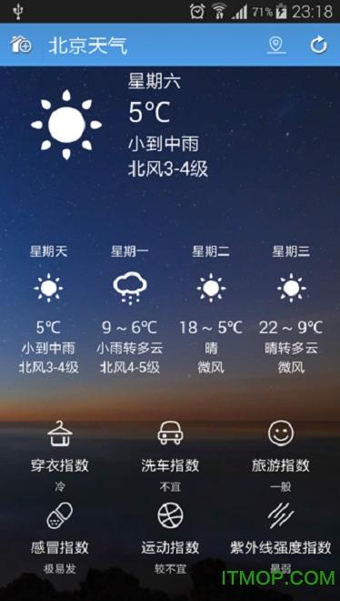 蚂蚁天气手机版 v1.0.5 安卓版2
