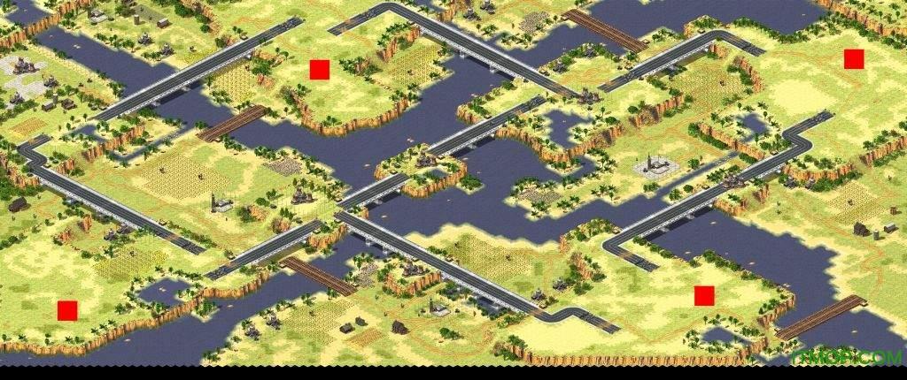 红色警戒2共和国之辉地图(内含变态地图)  0