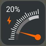 时速表电量显示(Gauge Battery Widget)