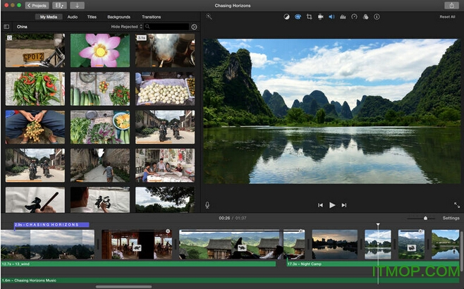 imovie for mac v10.1.2 苹果电脑版 0