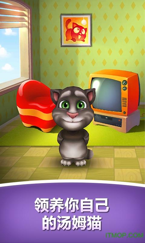 我的汤姆猫龙8国际娱乐唯一官方网站无限金币无限钻石 v5.2.0.899 安卓版 2