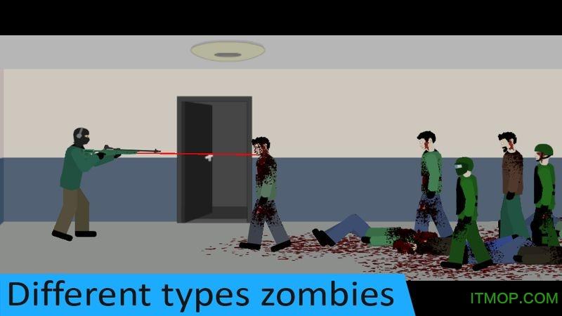平面僵尸防御游戏(Flat Zombies Cleanup Defense) v1.5.5 安卓版 2