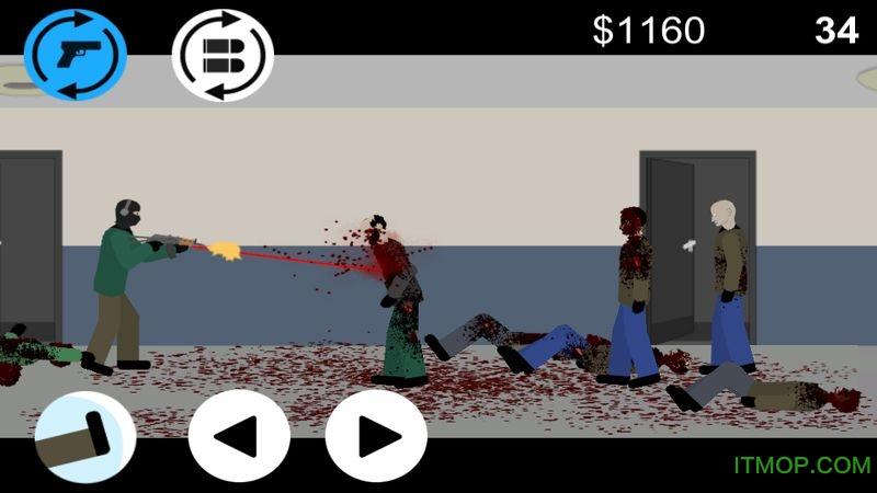 平面僵尸防御游戏(Flat Zombies Cleanup Defense) v1.5.5 安卓版 0
