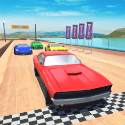 沙�┵��3D中文版(Beach Car Racing 3D)