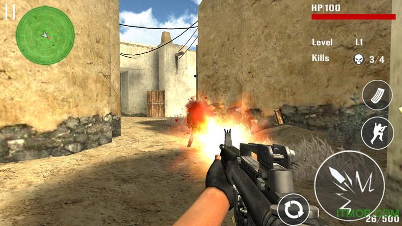 反恐突击射击(Counter Terrorists Shoot) v1.2 官网安卓版 2