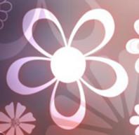 ps形状简洁的花朵