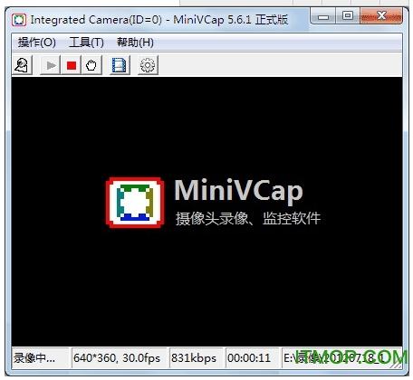 MiniVCap(摄像头监控软件) v5.6.7 破解版 0