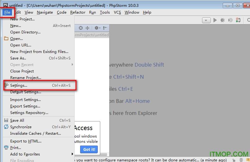 phpstorm10中文安装教程