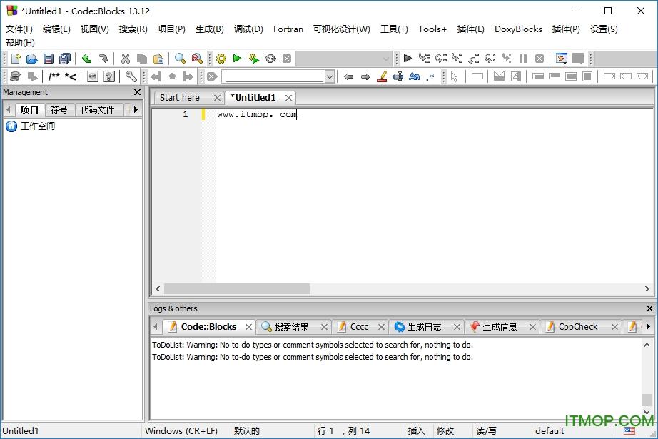 code blocks(带GNW编译器) v17.12 中文完整版 0