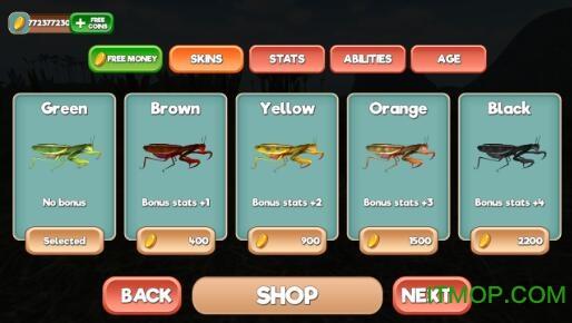 螳螂模拟器游戏 v1.0.0 安卓版 2