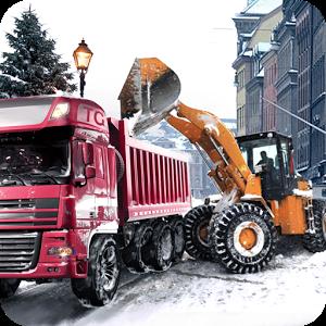 冬季铲车卡车模拟内购破解版(LoaderDumpTruckWinterSIM)