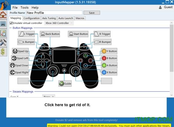 input mapper win10 v1.6.10.19991 中文最新版_附使用教程 0