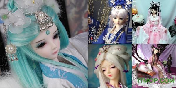 古装sd娃娃图片大全下载 绝美古装SD娃娃图片高清版下载免费版
