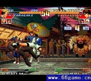 拳皇97降��屠蛇加��版