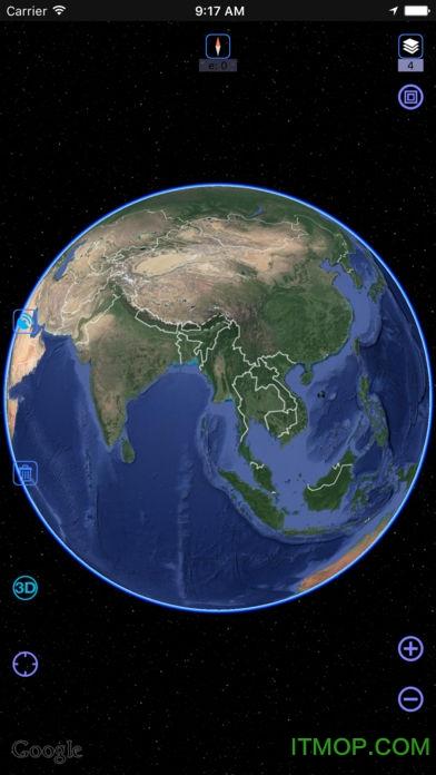 奥维互动地图浏览器苹果版 v8.8.2 iPhone版 0
