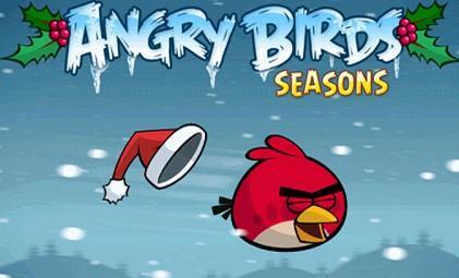 愤怒的小鸟冬季版绿色版