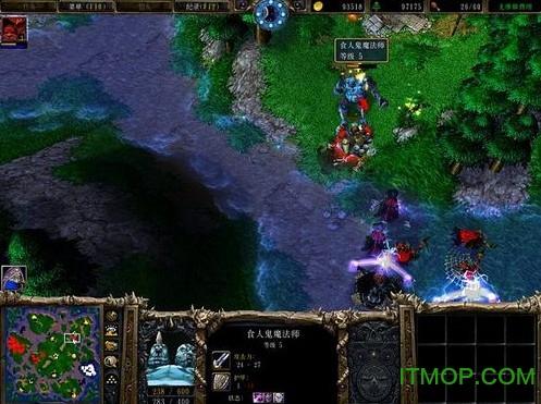 魔兽争霸3冰封王座完整版 v1.24 简体中文硬盘版0