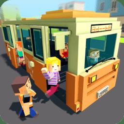 块状城市客车司机(Mr Blocky City Bus SIM)