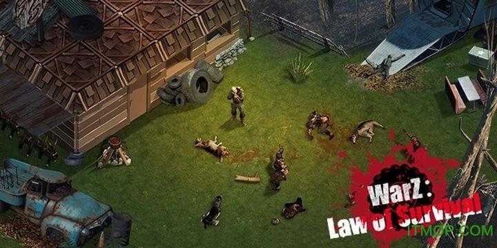 僵尸战争生存法则破解版(WarZ: Law of Survival)