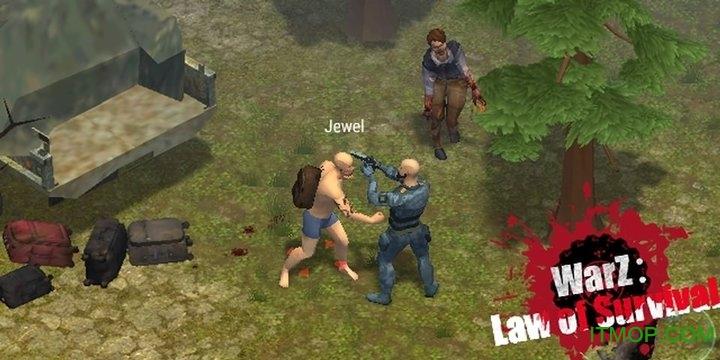 僵尸战争生存法则内购破解版(WarZ: Law of Survival) v1.1.8 安卓无限资源金币版 1