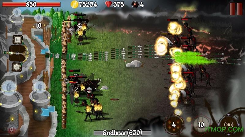 冷酷防御者城堡塔防内购破解版(Grim Defender) v1.37 安卓无限金币钻石版 1