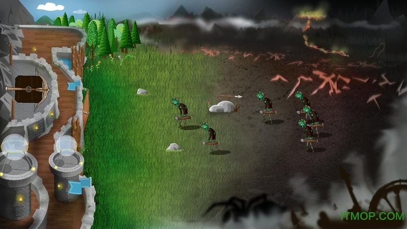 冷酷防御者城堡塔防内购破解版(Grim Defender) v1.37 安卓无限金币钻石版 2